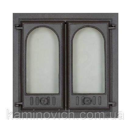 Каминная дверца двух створчатая SVT 400, фото 2