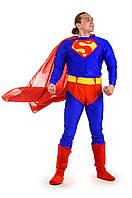 Взрослый костюм для аниматоров Supermen