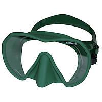 Подводная маска Beuchat Maxlux; зелёная бушат макслукс