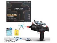 Пистолет 6801 с гелевыми пульками,очки аккум.кор.41*6*35 ш.к./24/(6801)