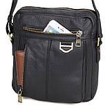 Зручна чоловіча сумка на плече 1011A, фото 6