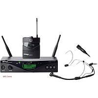 AKG WMS470InstrSet - Беспроводная радио система с поясным передатчиком и кабелем мини XLR
