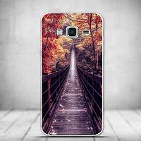 Силиконовый чехол бампер с рисунком для Samsung J3 2016 Galaxy J300 J320
