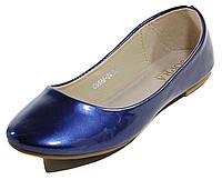 Балетки женские Sopra CG888-2Q синий лак