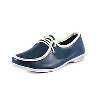Мокасины женские QShoes 115073 синие