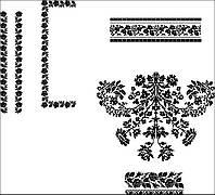 Заготовка Сокальської жіночої сорочки для вишивки бісером БС-91