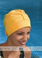 Шапочка для плавания тканевая с регулируемой застежкой