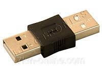 Переходник USB (папа) - USB (папа) 2011006465