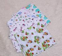Ситцевые пеленки для новорожденных малышей (95*110)