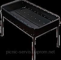 Пикник-10 Мангал на 10 шампуров складной