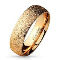 Свадебное кольцо из нержавеющей стали 316L Spikes (США) 17,25
