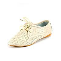 Туфли женские Allshoes 86533 бежевый