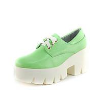 Туфли женские Ilona IL202-006U зеленый