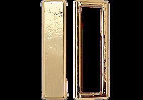 Тренч с украшением 8402 золото