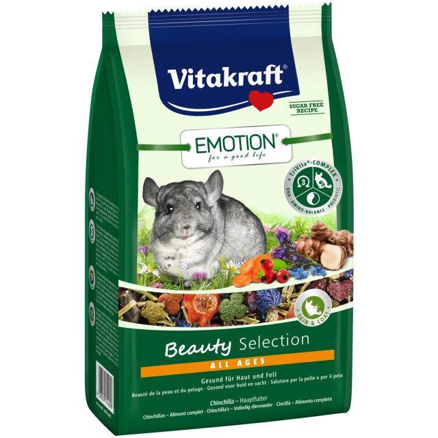 Vitakraft Emotion Beauty Selection Adult 600г - корм для шиншил (33758)