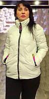 Курточка женская короткая  весенне-осенняя р. 48-58