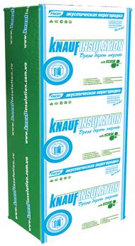 Акустична перегородка Knauf Insulation Експерт 18,3 кв. м, 50х610х1250мм