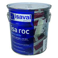 Лак для камня Иза-Рок 4л ISAVAL фасадный гидроизоляционный «мокрый эффект», фото 1