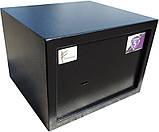 Мебельный сейф  Ferocon БС-25М.К.9005, фото 3