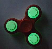 Спиннер Светящийся Красный с подшипниками Украина  Hand spinner,  finger spinner Игрушка Антистресс