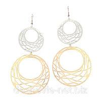 Серьги женские 08SRs-gold распродажа сережек