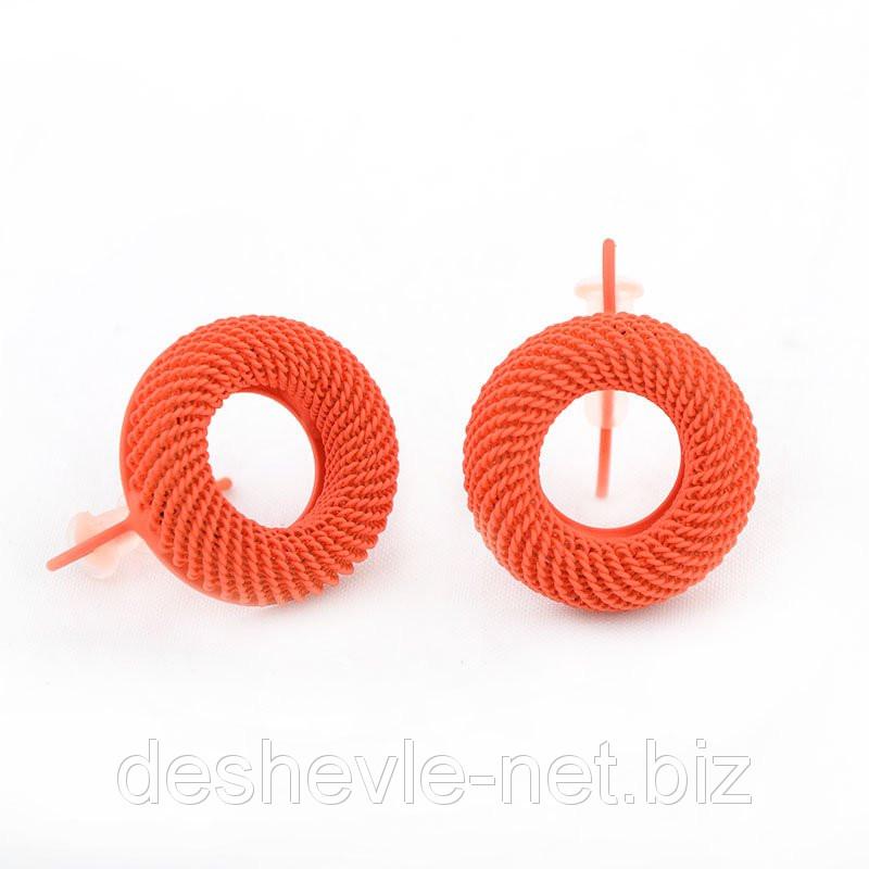 Серьги женские оранжевого цвета 012SRorange