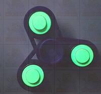 Спиннер Светящийся Фиолетовый с подшипниками Украина  Hand spinner,  finger spinner Игрушка Антистре