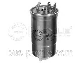 Топливный фильтр на VW LT 2.5 TDI, 2.8 TDI 96kw 1996-2006 — Meyle (Германия) — 1001270007