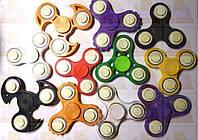 Спиннер Светящийся Разные цвета с подшипниками Hand spinner,  finger spinner 1шт Игрушка Антистресс