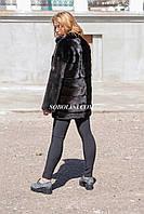 NEW 2017. Шуба из норки копенгаген аукцион,  длина 80 см. Производство Харьков