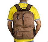 Текстильный мужской рюкзак  9021B, фото 6