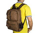 Текстильный мужской рюкзак  9021B, фото 7