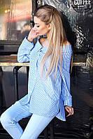Элегантная блузка с большим воротником на плечи в итальянском стиле