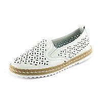 Мокасины женские Allshoes A2816-6 белый