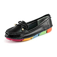 Мокасины женские Allshoes 1957 черный