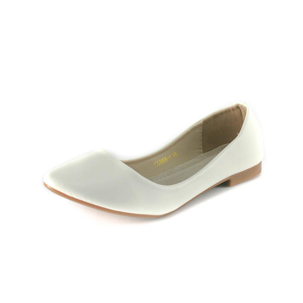 Балетки женские Sopra CG888-1 белый - SND - интернет-магазин обуви в  Харькове 731a480876ab3
