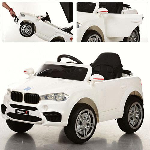 Детский электромобиль M 3180EBLR-1,мягкие колеса и кожаное сиденье
