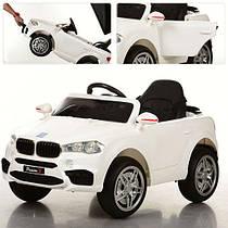 Дитячий електромобіль M 3180EBLR-1,м'які колеса і шкіряне сидіння