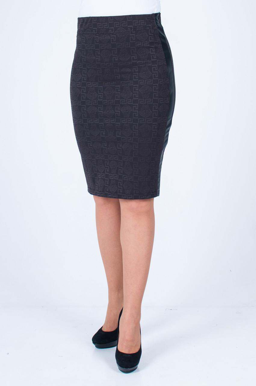 Женская юбка Анабель Версачи коричневая