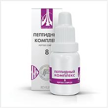 Жидкий пептидный комплекс № 8 для восстановления печени