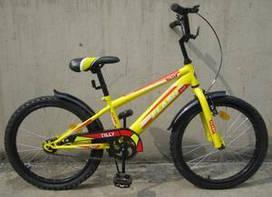 """Велосипед двухколесный Tilly Flash 20"""" цвета в ассортименте"""