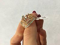 Кольцо корона (позолота ) (!!!18р.ДЕФЕКТ!!!.)