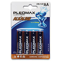 Батарейки Samsung - Pleomax Alkaline АА LR6 1.5V 4/400шт