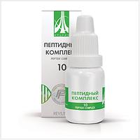 Жидкий пептидный комплекс № 10 для восстановления женской половой системы