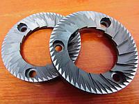 Ножі Necta 63,5х38х9 3 отвори права(156)