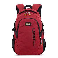 Рюкзак городской Luckyman red