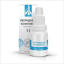 Жидкий пептидный комплекс № 11 для мочевыделительной системы / почек