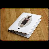 """Обложка для паспорта """"Hipster Girls"""" + блокнотик"""