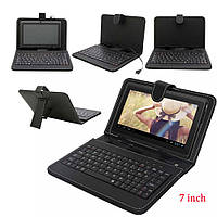 Чехол для планшетов KEYBOARD 7 black micro, чехол клавиатура keyboard, чехол с клавиатурой для планшета