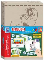 Дидактический демонстрационный материал с магнитами English (укр), Vladi Toys (VT3701-08)